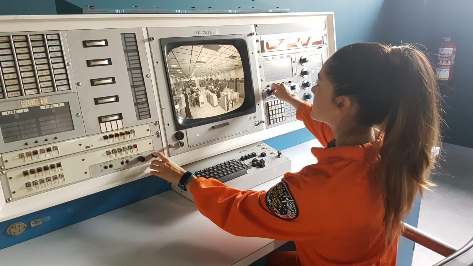 Astronauta LiLi en el Centro de la Ciencia y el Espacio (Museo Lunar)