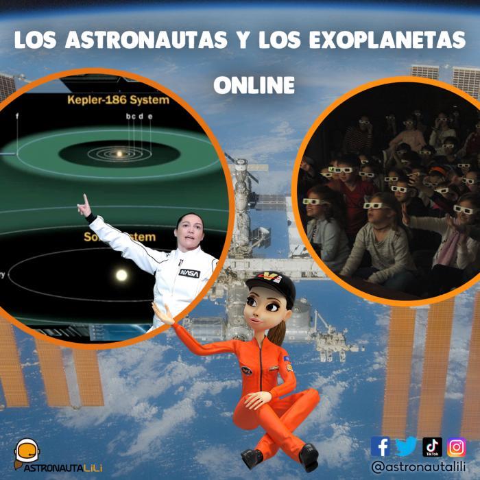 Astronomía para niños Online - Astronauta LiLi